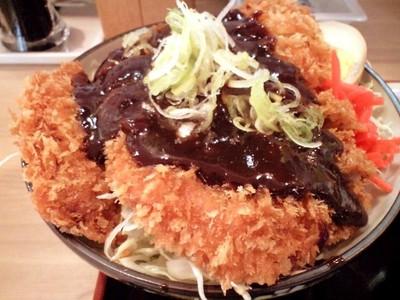 花しずく 恵比寿店 味噌カツ丼